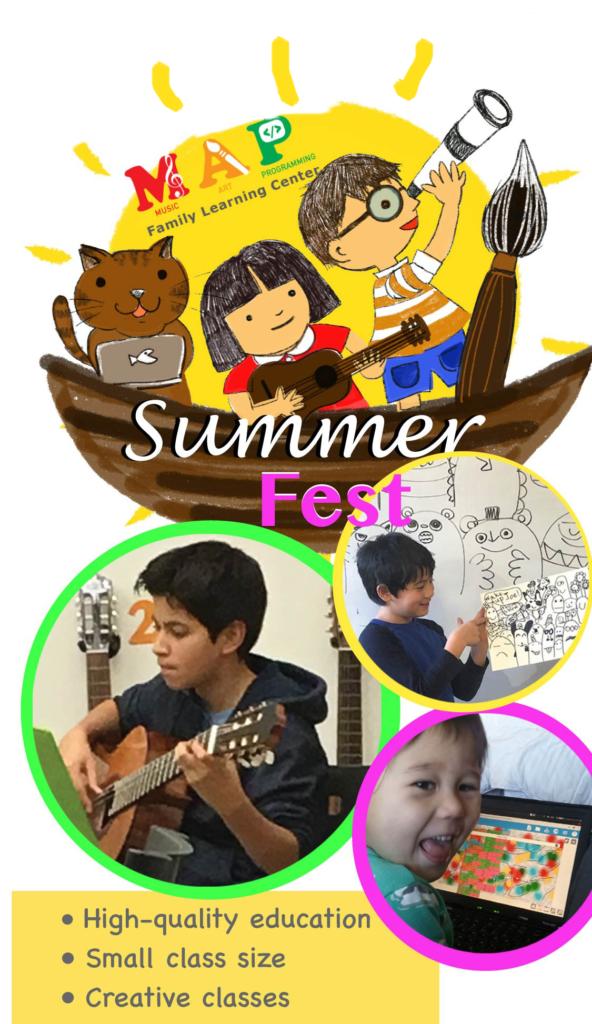 Summer Workshops Banner
